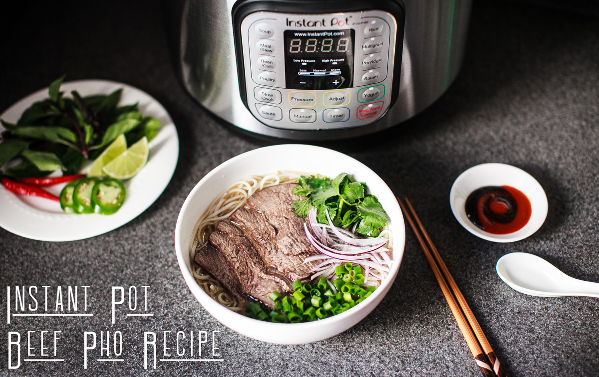 Instant pot beef pho recipe ph chn brisket pho food is four share recipe forumfinder Images