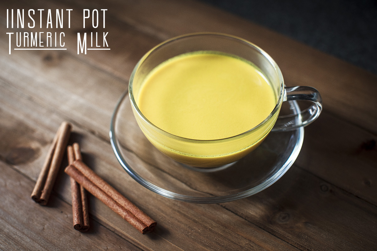 Instant Pot Turmeric Milk Recipe
