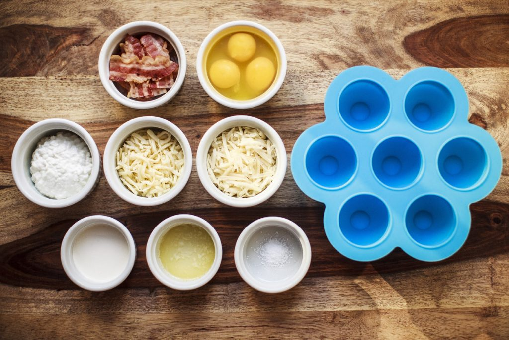 Instant Pot Egg Bites Ingredients