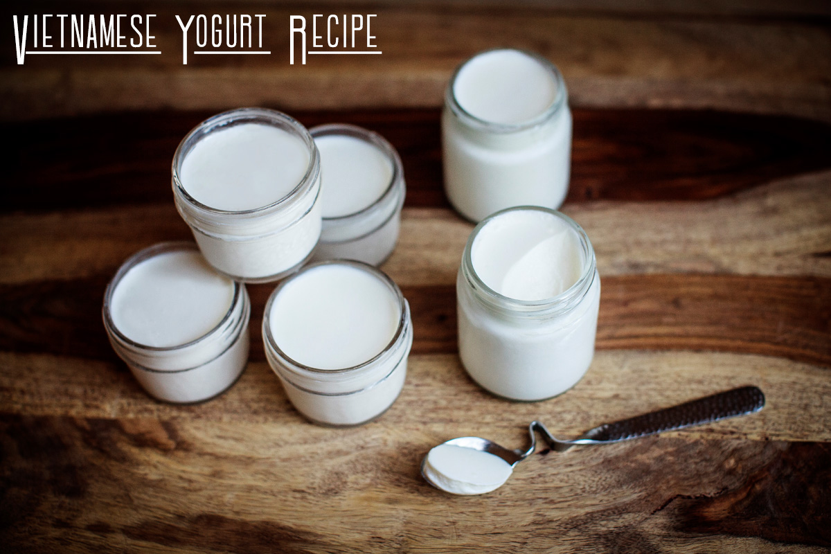 Vietnamese Yogurt Recipe