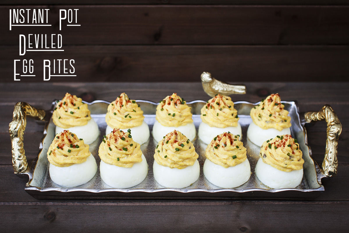 Instant Pot Deviled Egg Bites Recipe