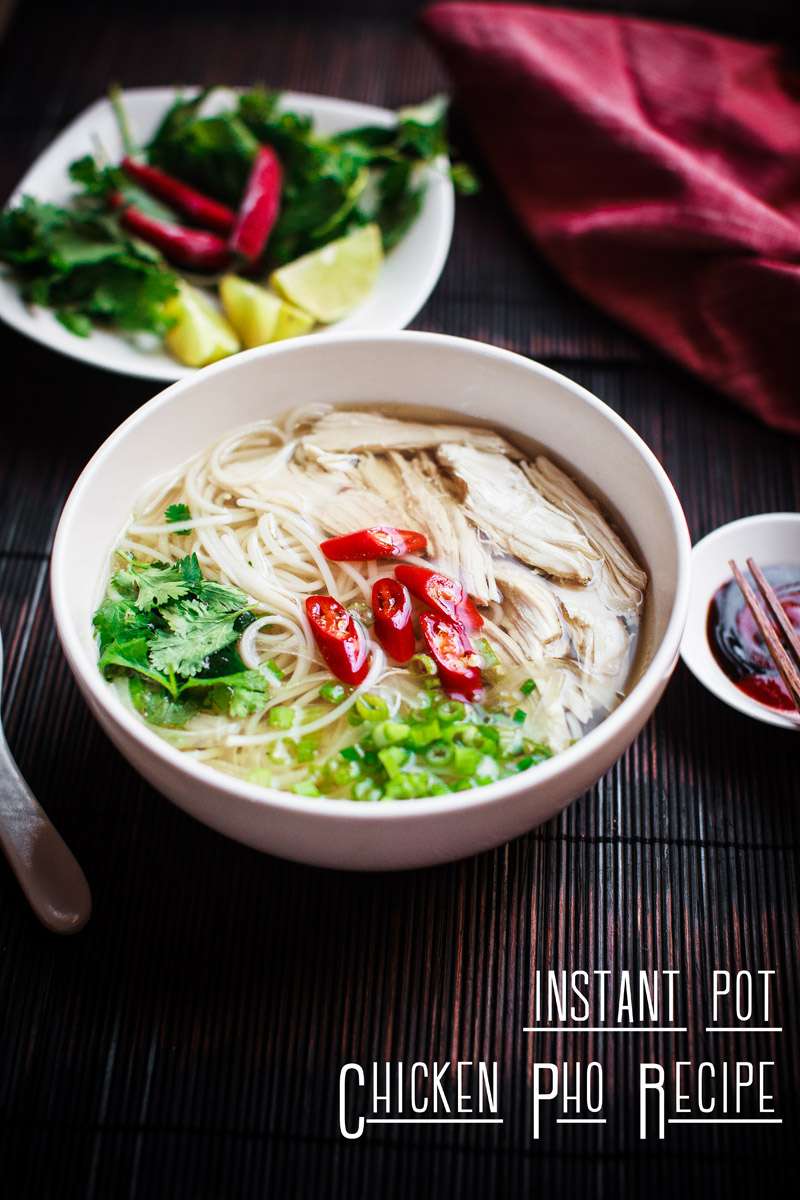 Instant Pot Chicken Pho Recipe