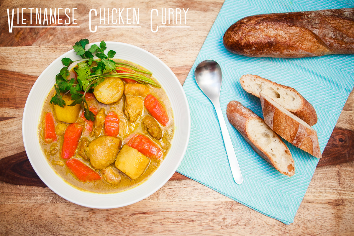 Vietnamese Chicken Curry Recipe