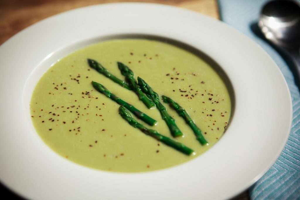 Instant Pot Asparagus Soup Recipe