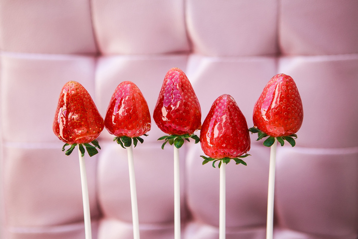 Candied Strawberries Recipe Food Is Four Letter Word