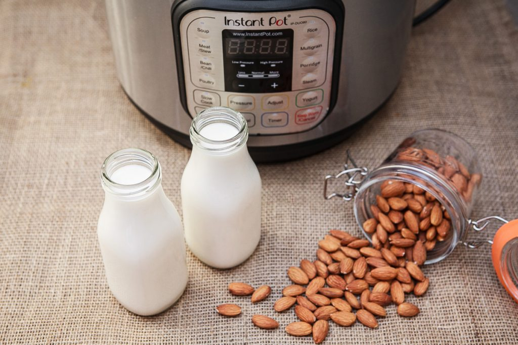 Instant Pot Almond Milk Recipe