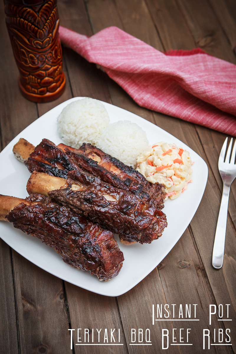 Instant Pot Teriyaki BBQ Beef Ribs Recipe