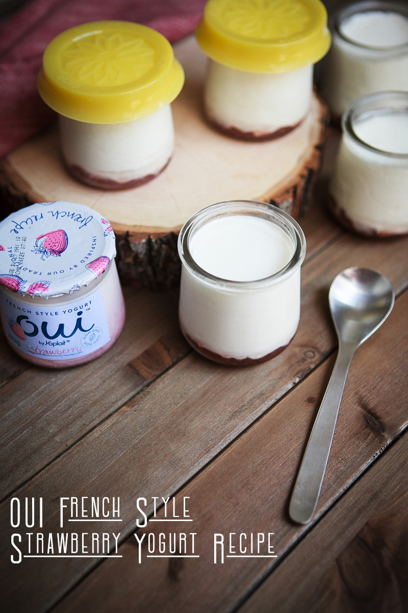 Oui French Style Strawberry Yogurt Recipe