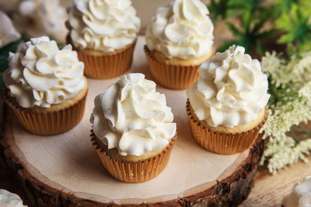 Lemon & Elderflower Cupcakes Recipe Prince Harry and Meghan Markle's Royal Wedding Cake