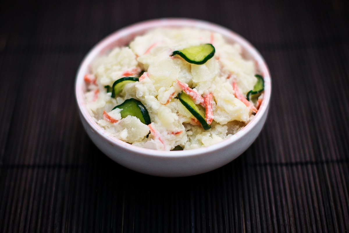 Instant Pot Japanese Potato Salad Recipe