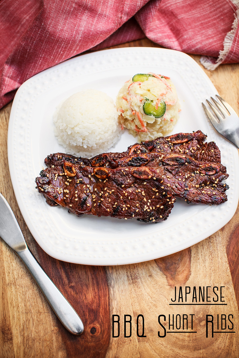 Japanese BBQ Short Ribs Recipe - Japanese Calbi