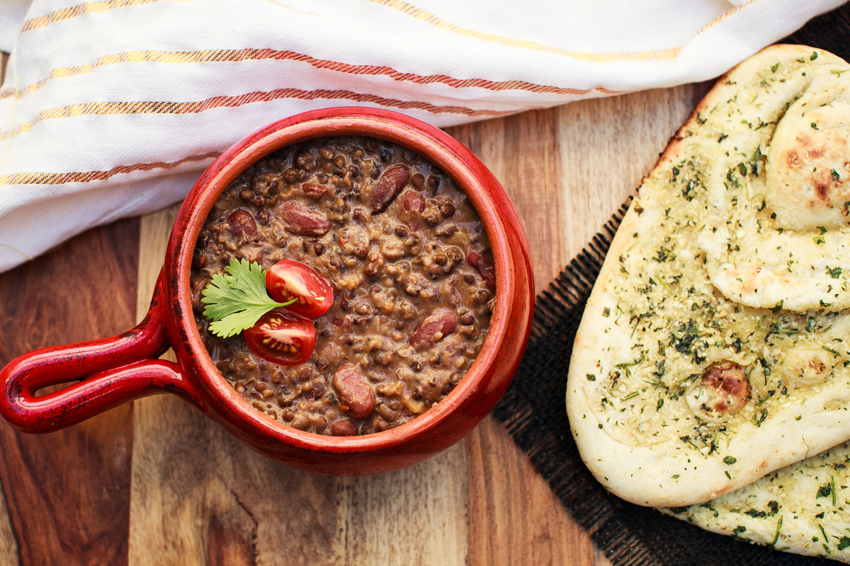 Instant Pot Madras Lentils Recipe