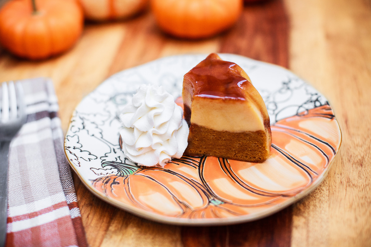 Instant Pot Pumpkin Flan Cake Recipe