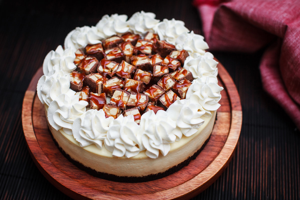 Instant Pot Snickers Cheesecake Recipe