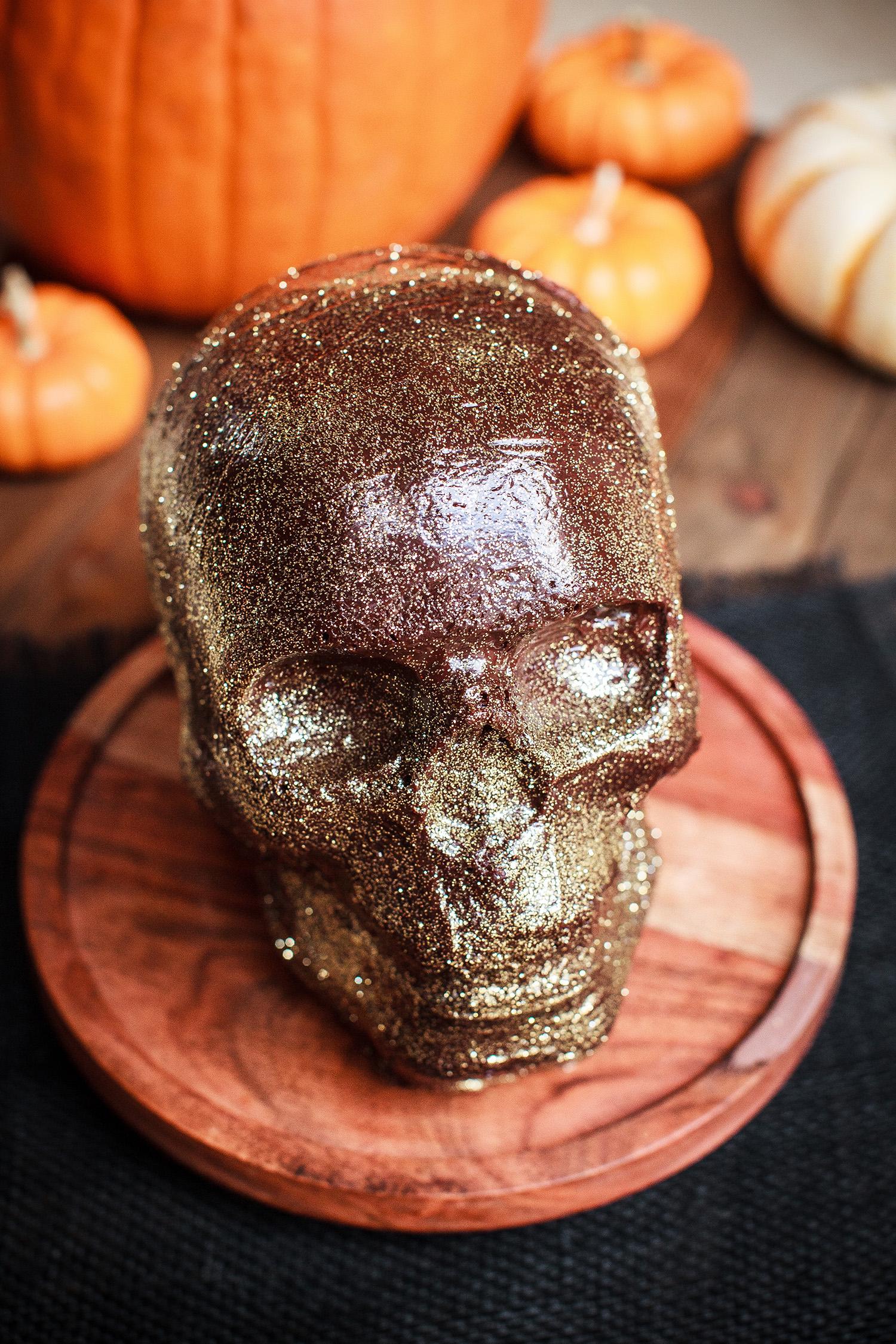 Triple Chocolate Skull Cake Recipe For Nordic Ware Skull