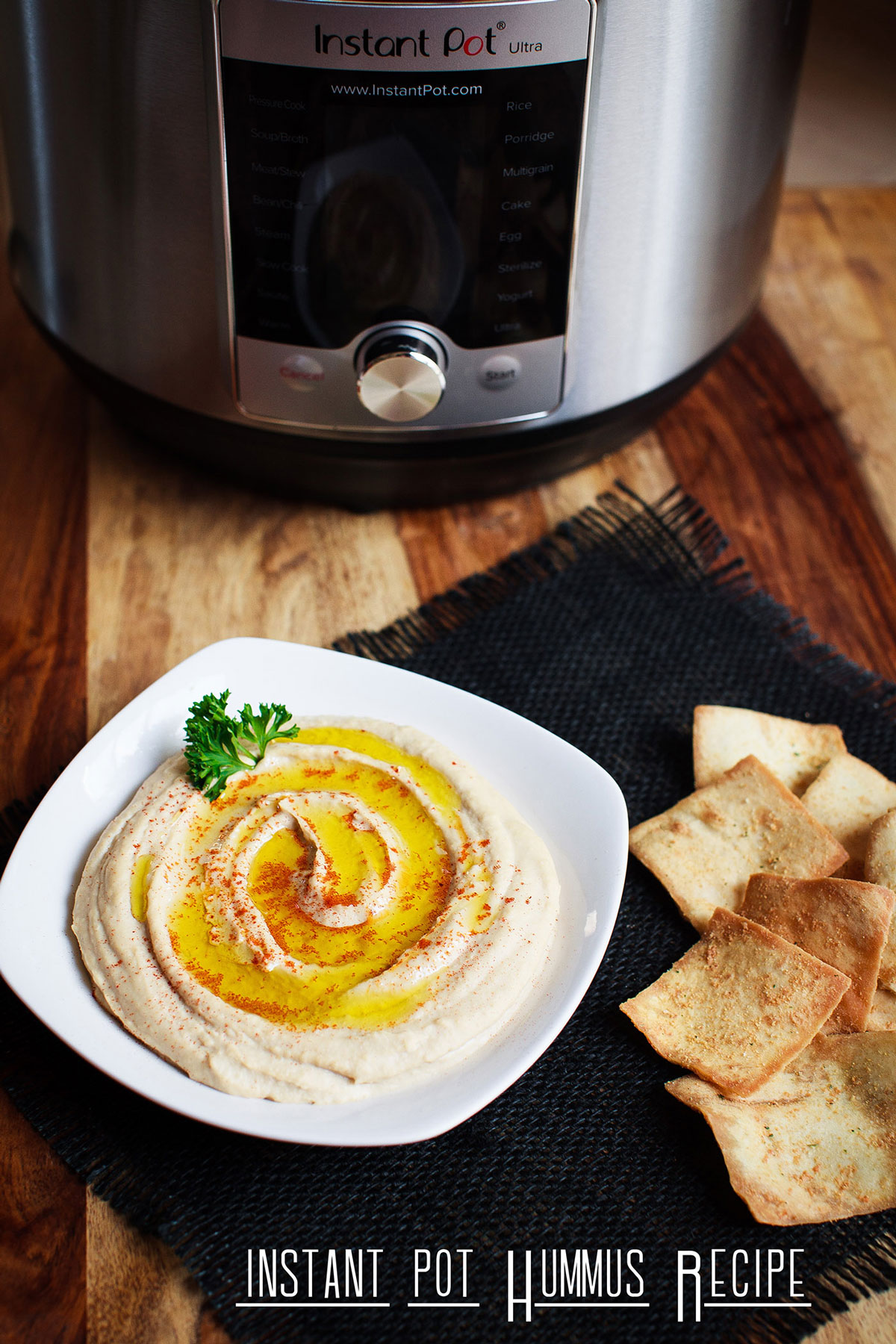 Instant Pot Hummus Recipe
