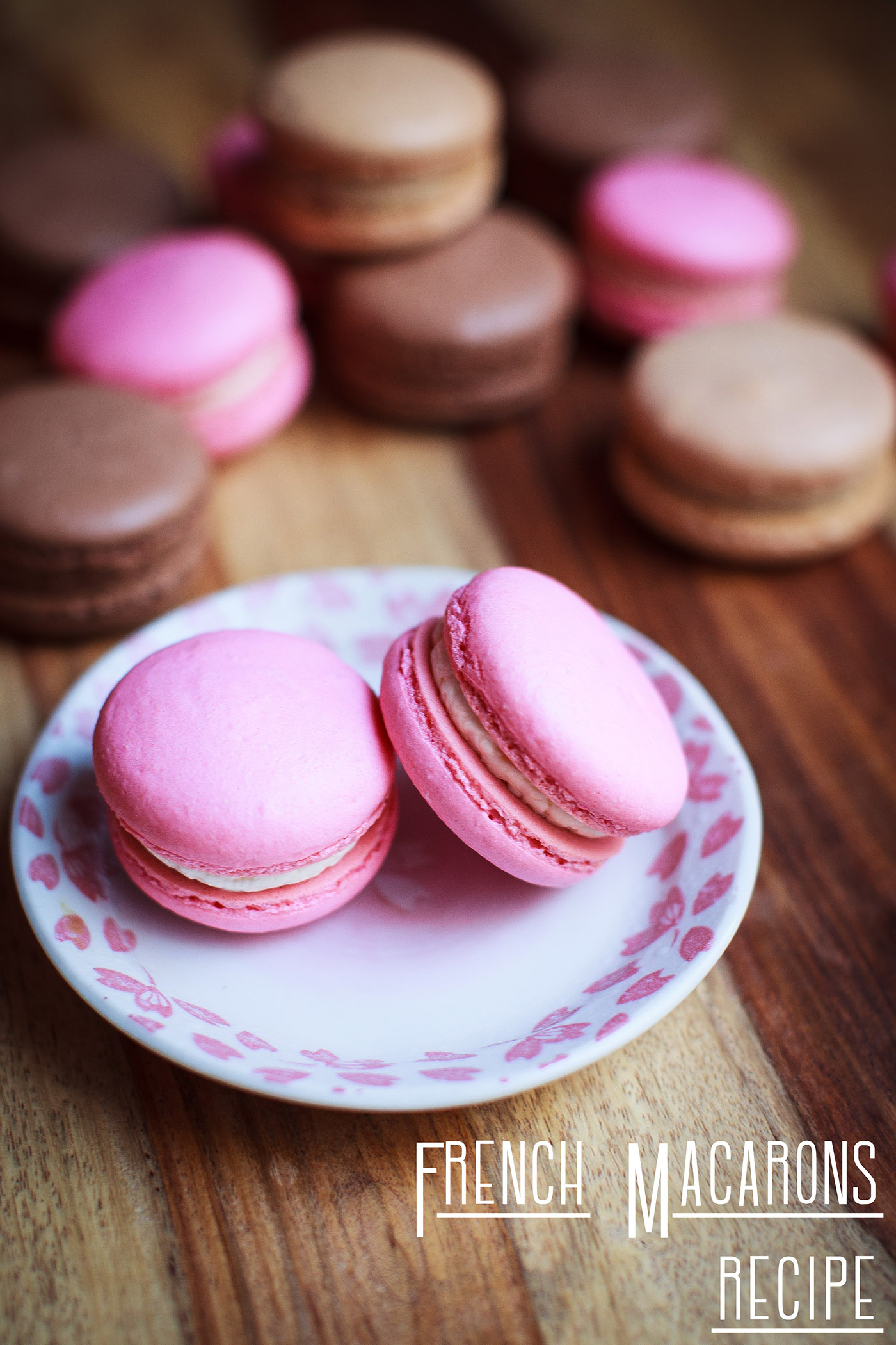 French Macaron Recipe (French Merengue Technique)