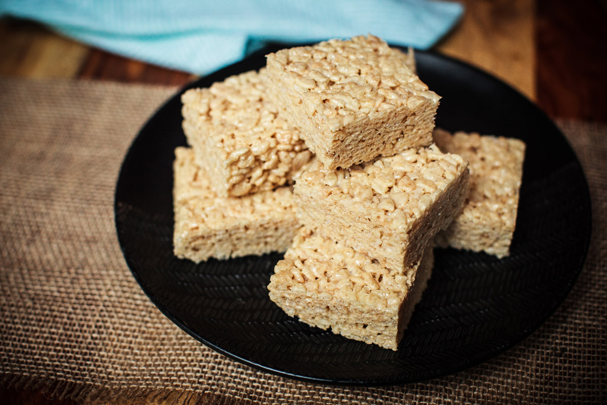 Brown Butter and Vanilla Rice Krispie Treats Recipe