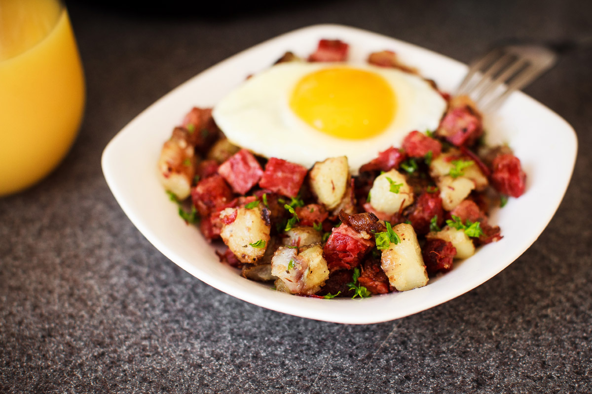 Instant Pot Corned Beef Hash Recipe