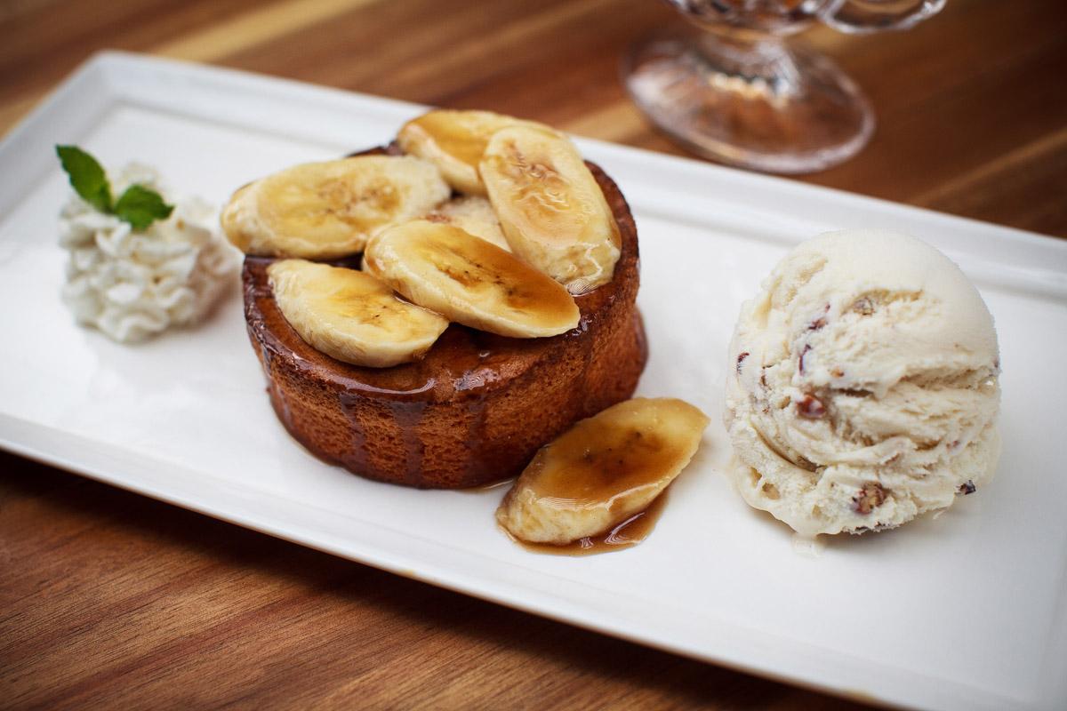 Eddie V's Bananas Foster Butter Cake Recipe