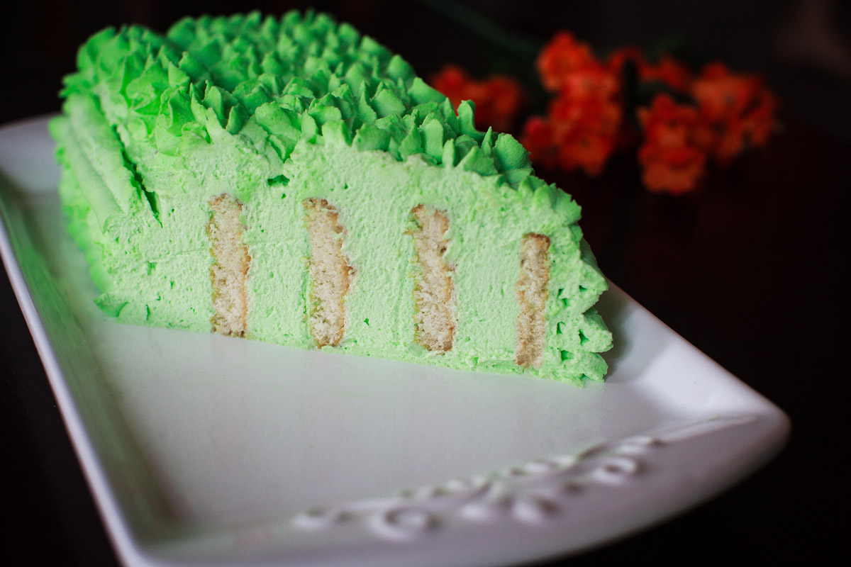 Pandan Icebox Cake Recipe (No-Bake)