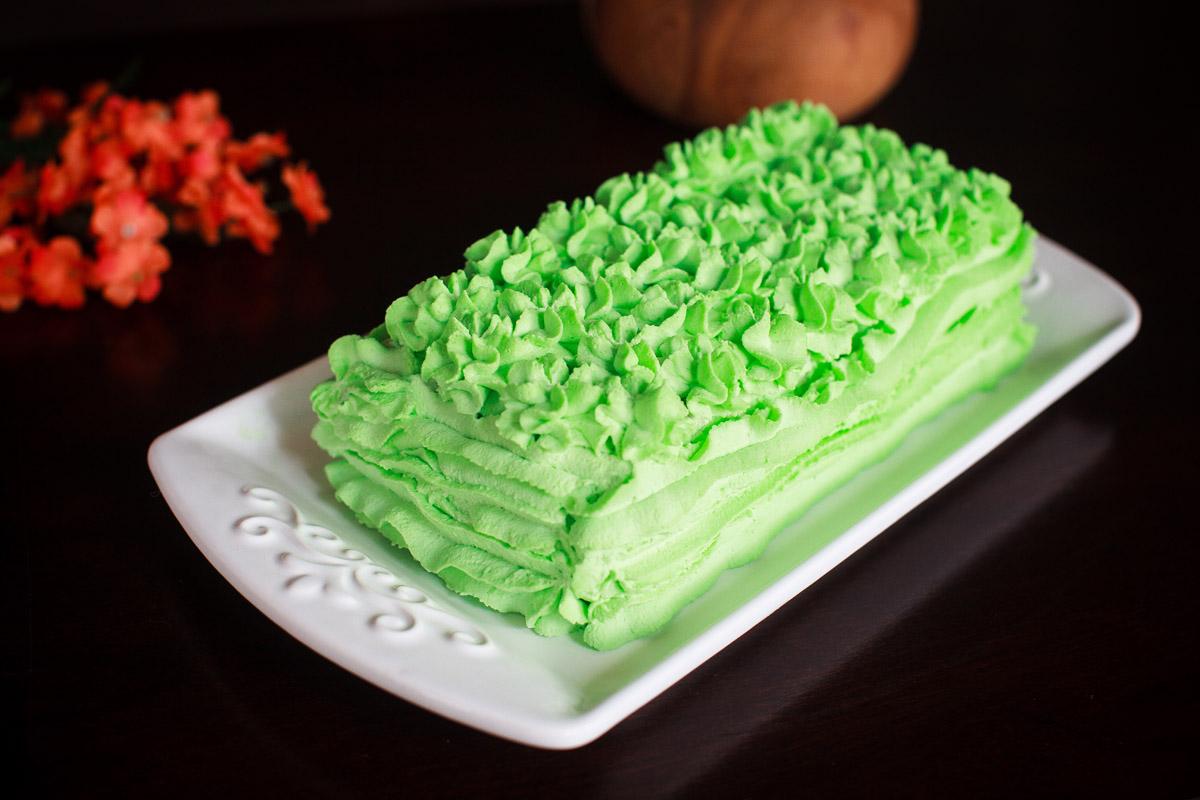 Pandan Icebox Cake Recipe (No-Bake)