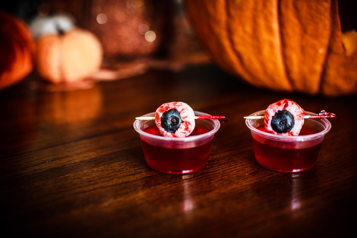 Bloody Eyeball Jello Shots Recipe for Halloween