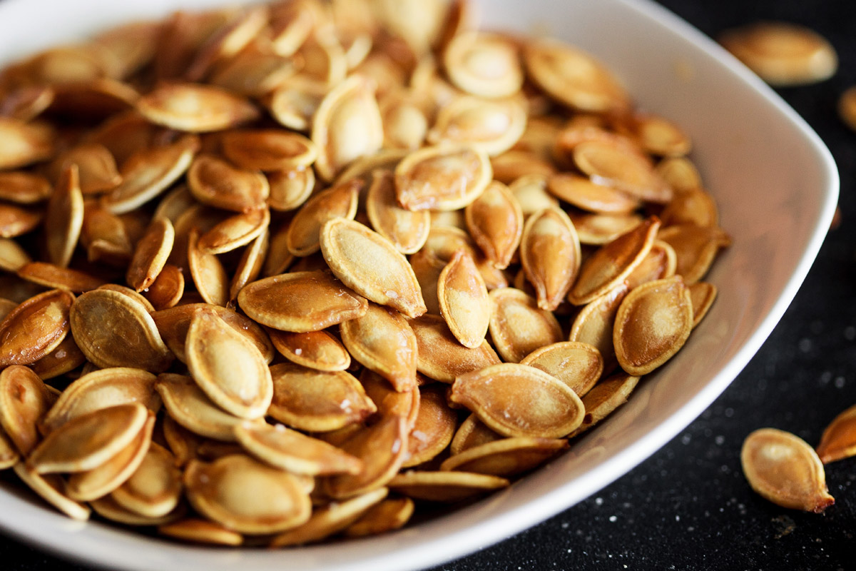 Browned Butter Roasted Pumpkin Seeds Recipe