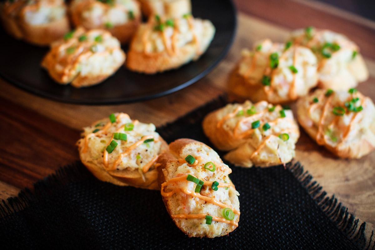 Crab & Shrimp Toast Recipe