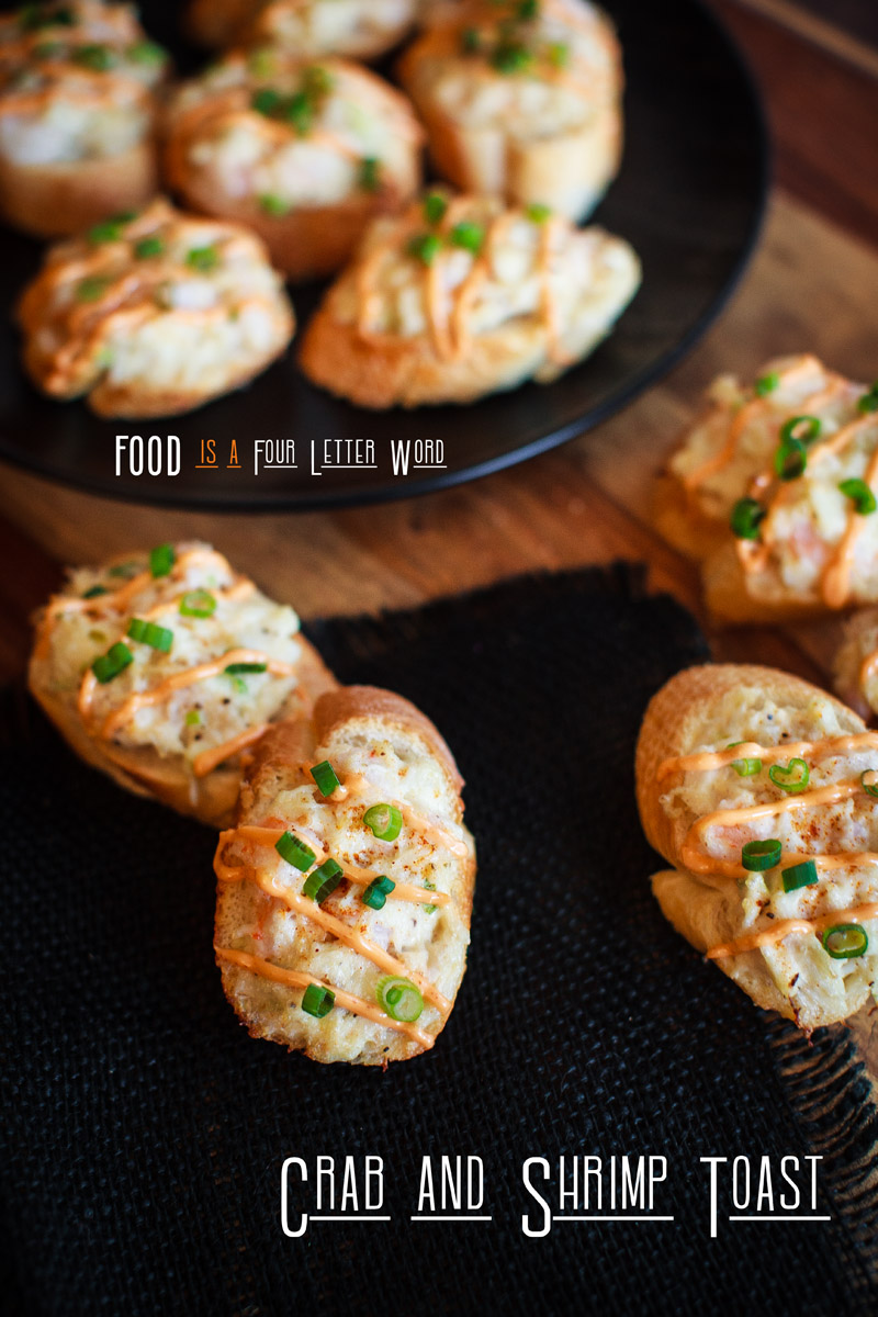 Crab & Shrimp Toast Recipe