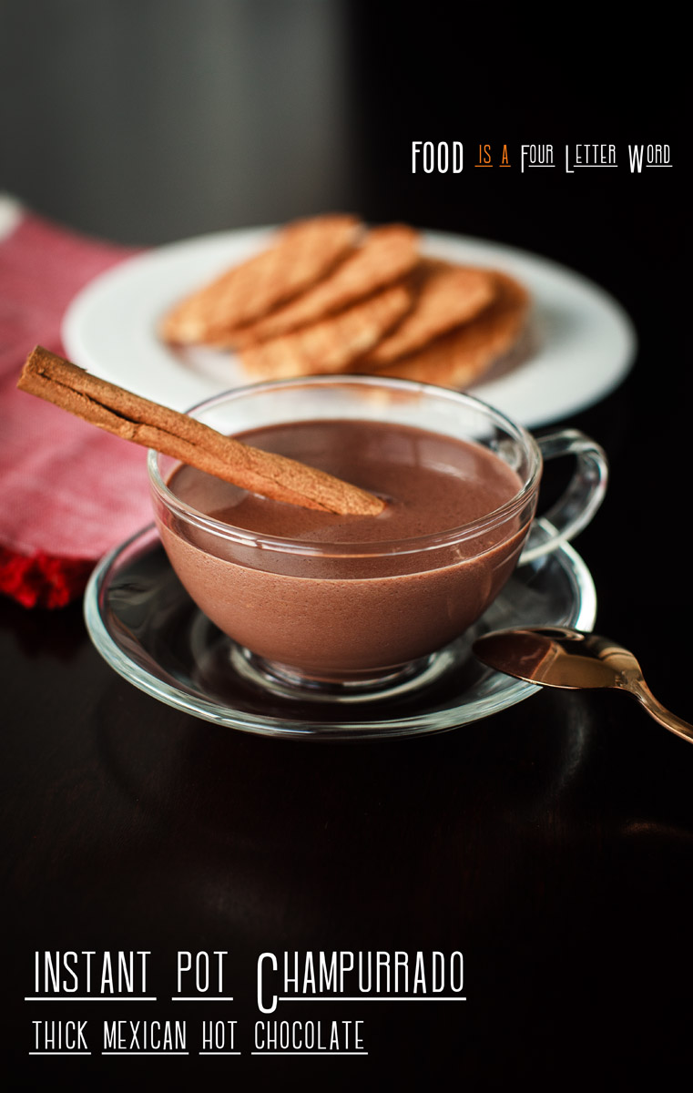 Instant Pot Champurrado Recipe (Thick Mexican Hot Chocolate)