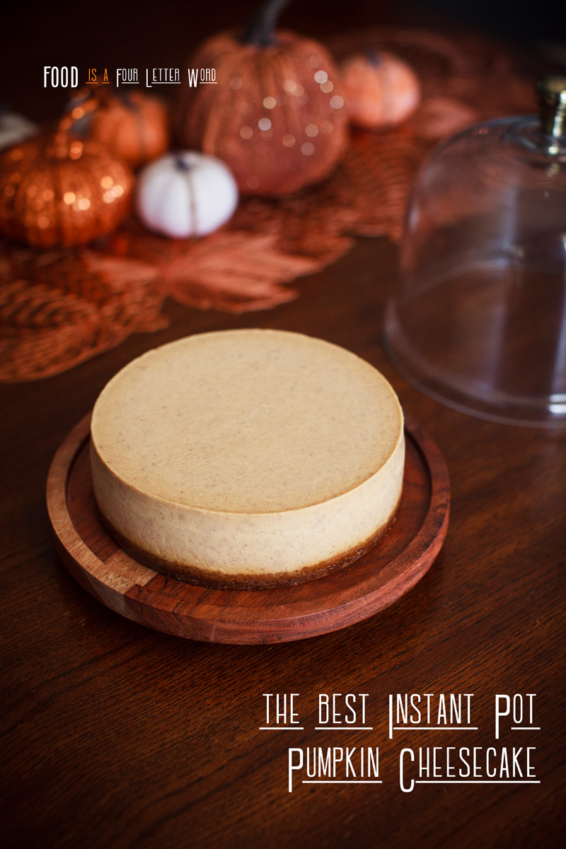 The BEST Instant Pot Pumpkin Cheesecake Recipe