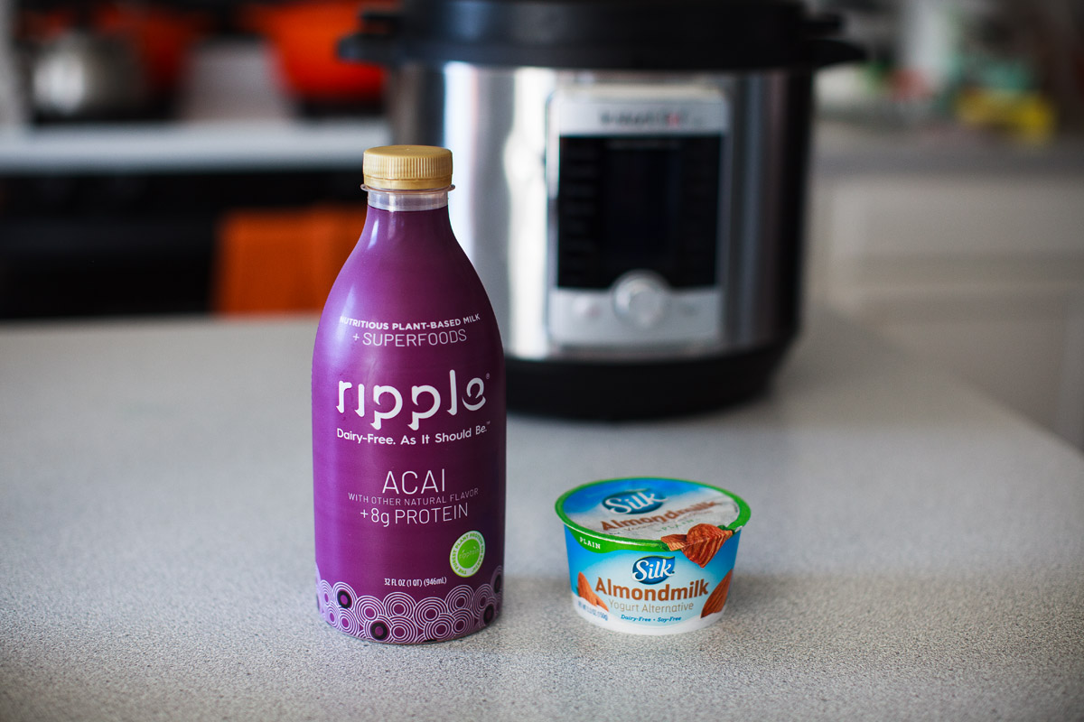 Instant Pot Acai Vegan Yogurt Recipe