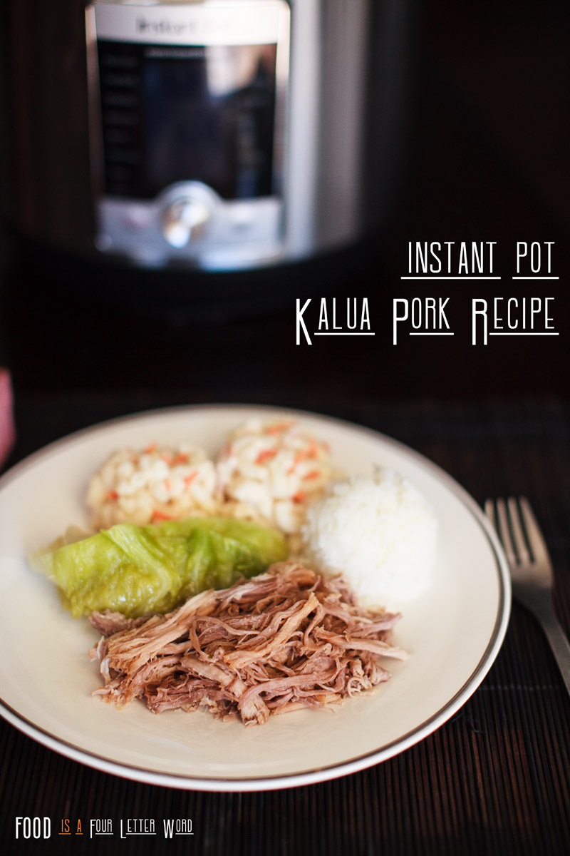 Instant Pot Kalua Pork with Cabbage Recipe