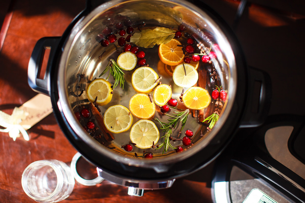 Instant Pot Simmering Holiday Potpourri Recipe