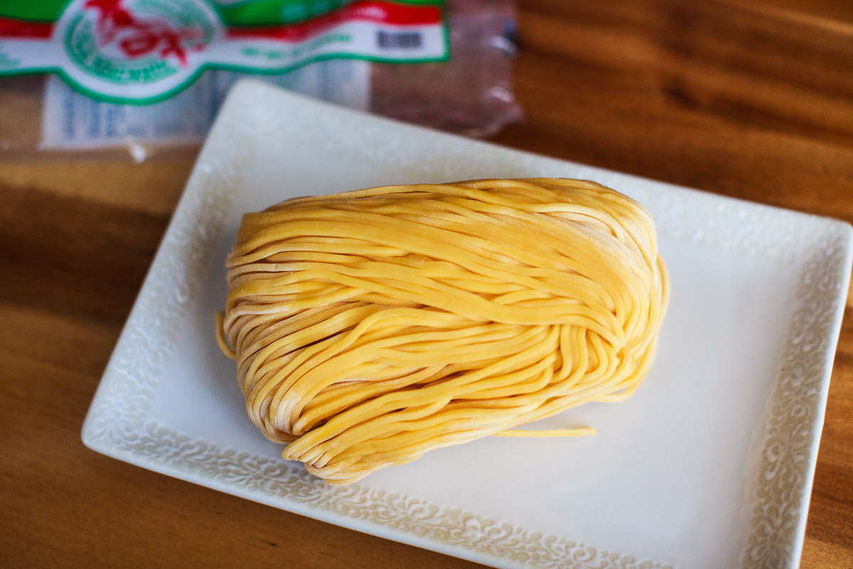 Crustacean / AnQi / Thang Long Garlic Noodles Recipe