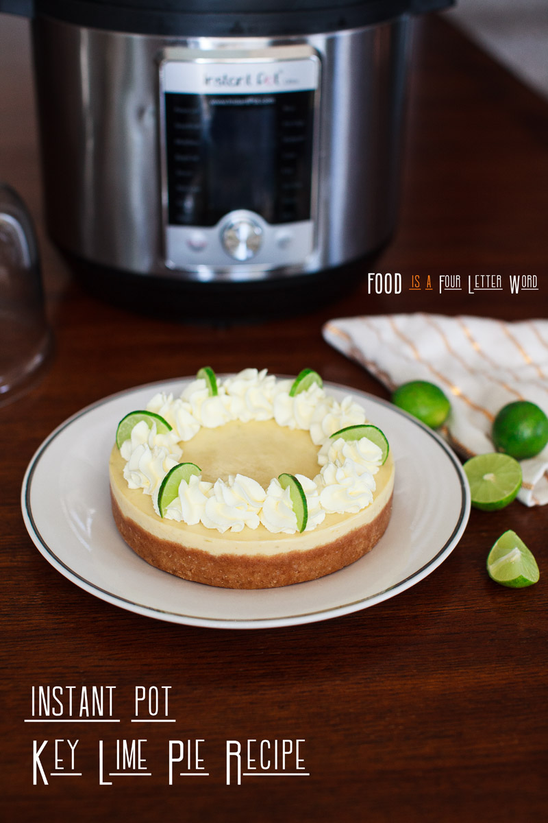 Instant Pot Key Lime Pie Recipe + Chocolate-Covered Key Lime Pie