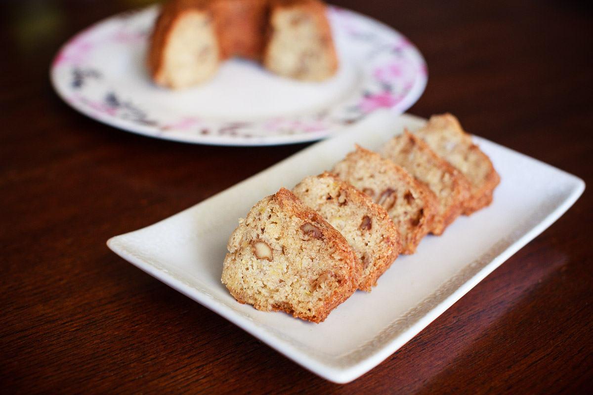 Instant Pot Banana Nut Bread Recipe