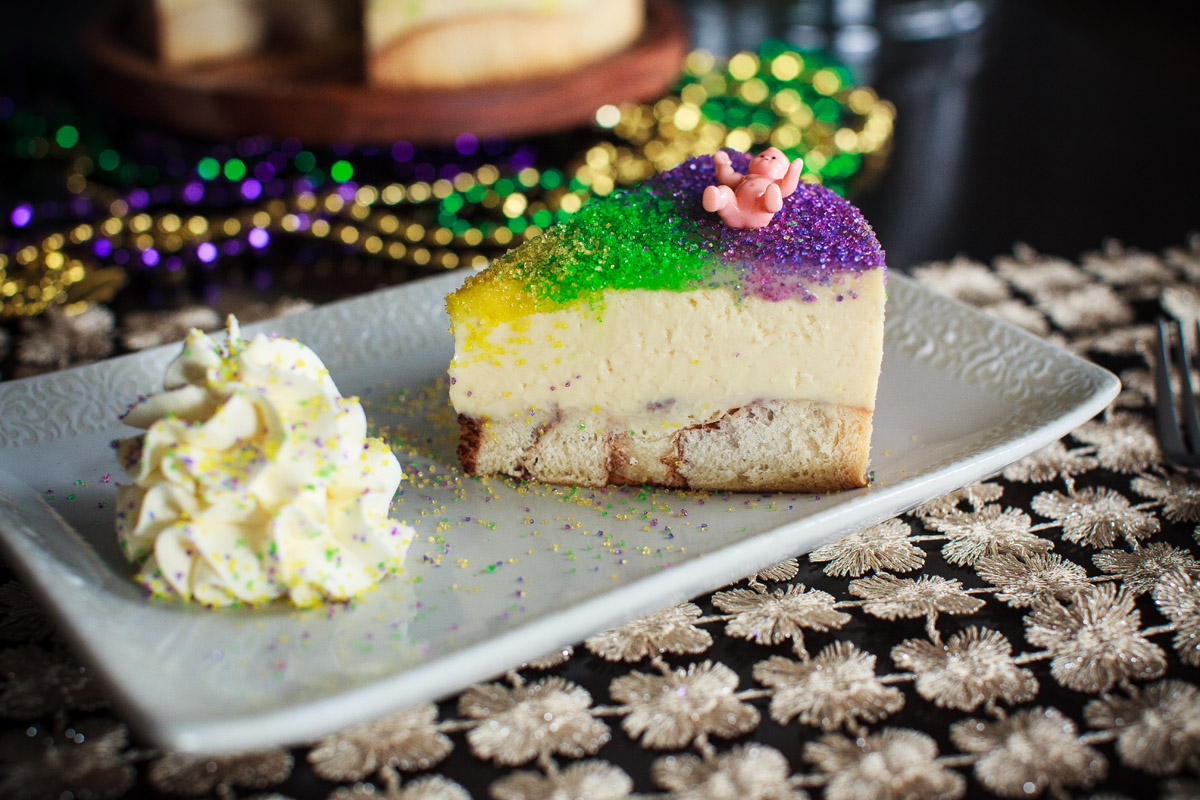 Instant Pot KING Cake Cheesecake Recipe + (Oven Recipe)