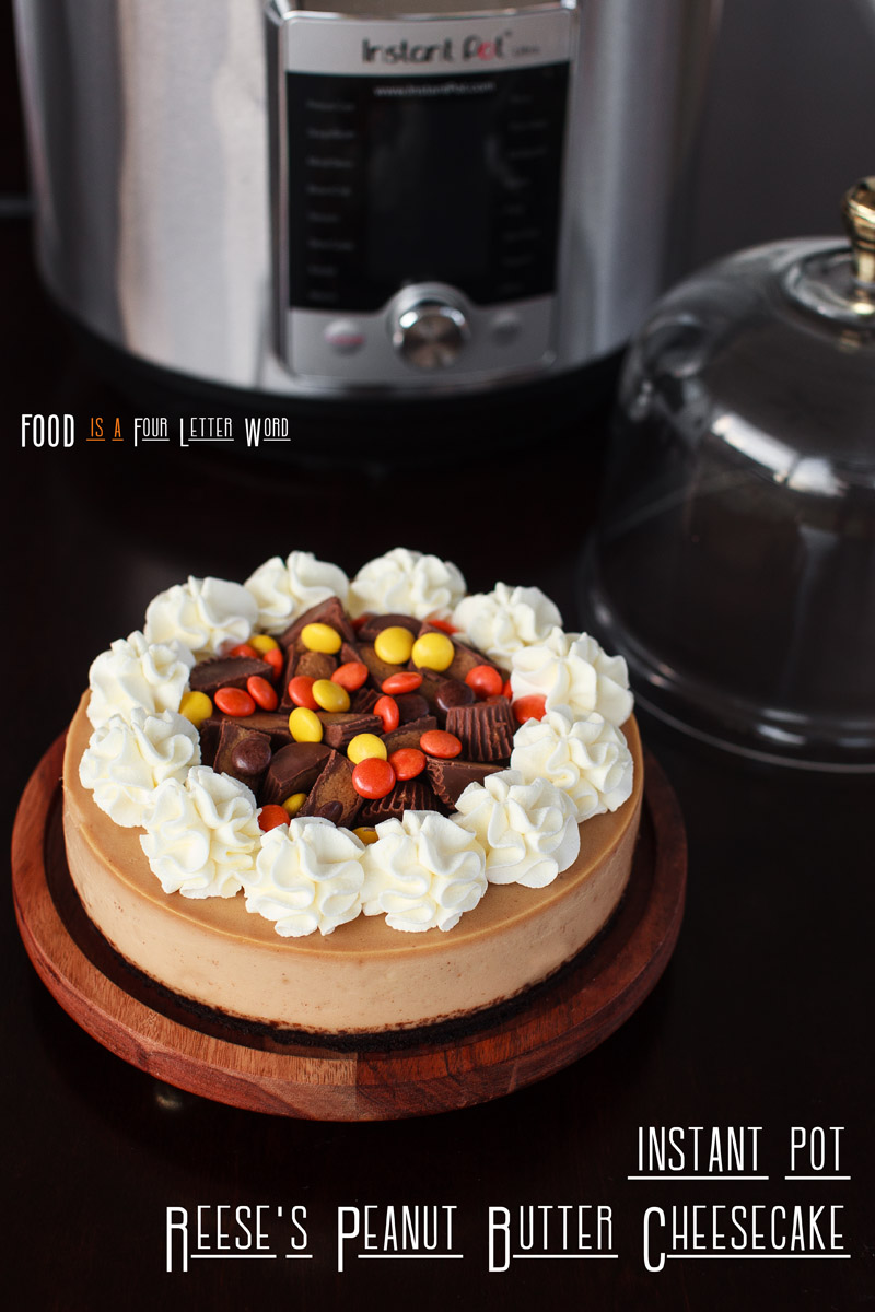 Instant Pot Reese's Peanut Butter Cheesecake Recipe
