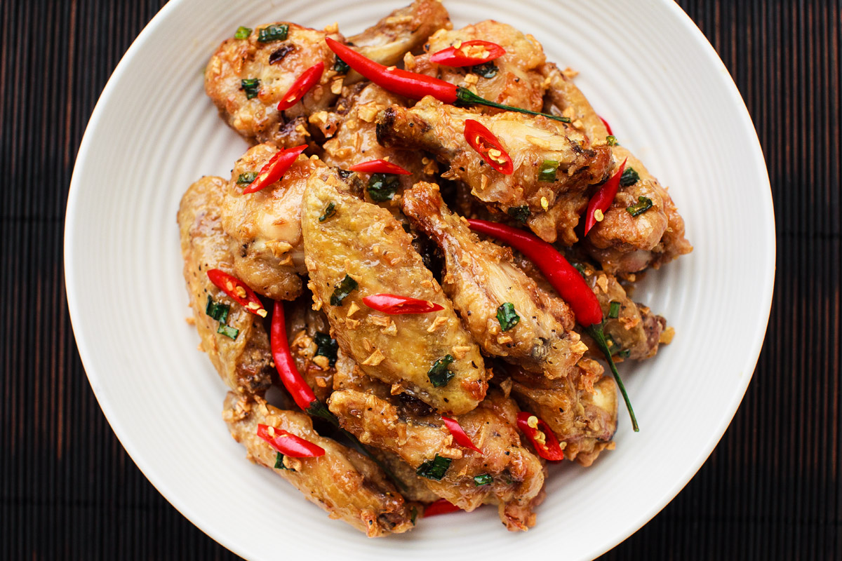 Air Fryer Vietnamese Fish Sauce Wings Recipe