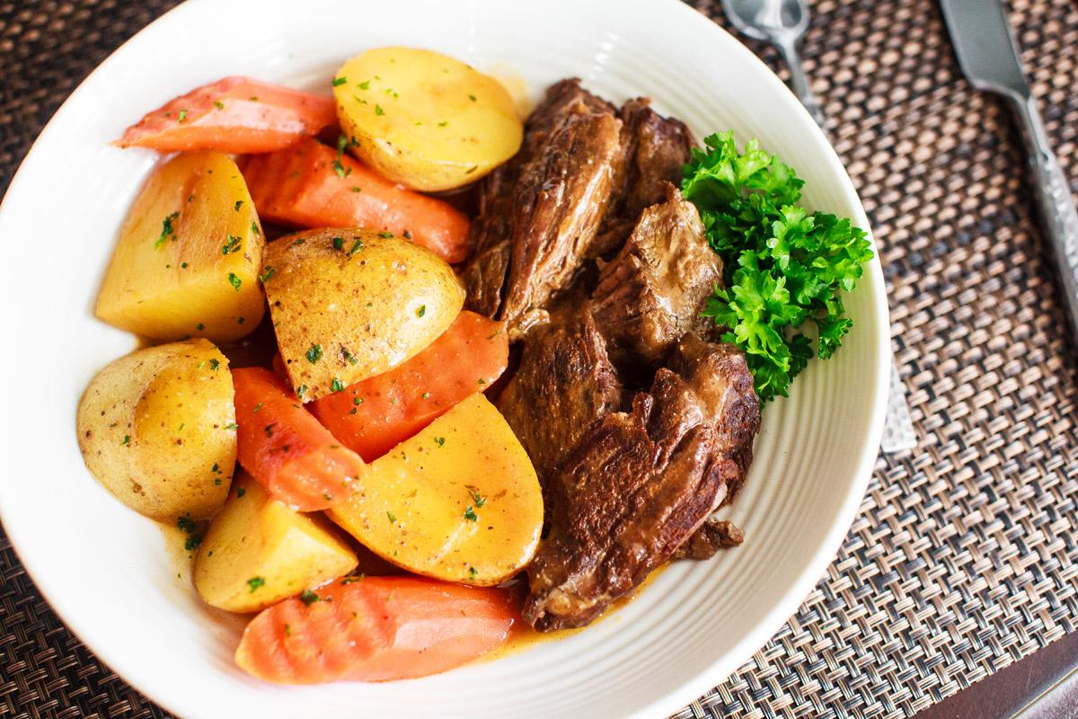 Instant Pot Classic Sunday Pot Roast Recipe