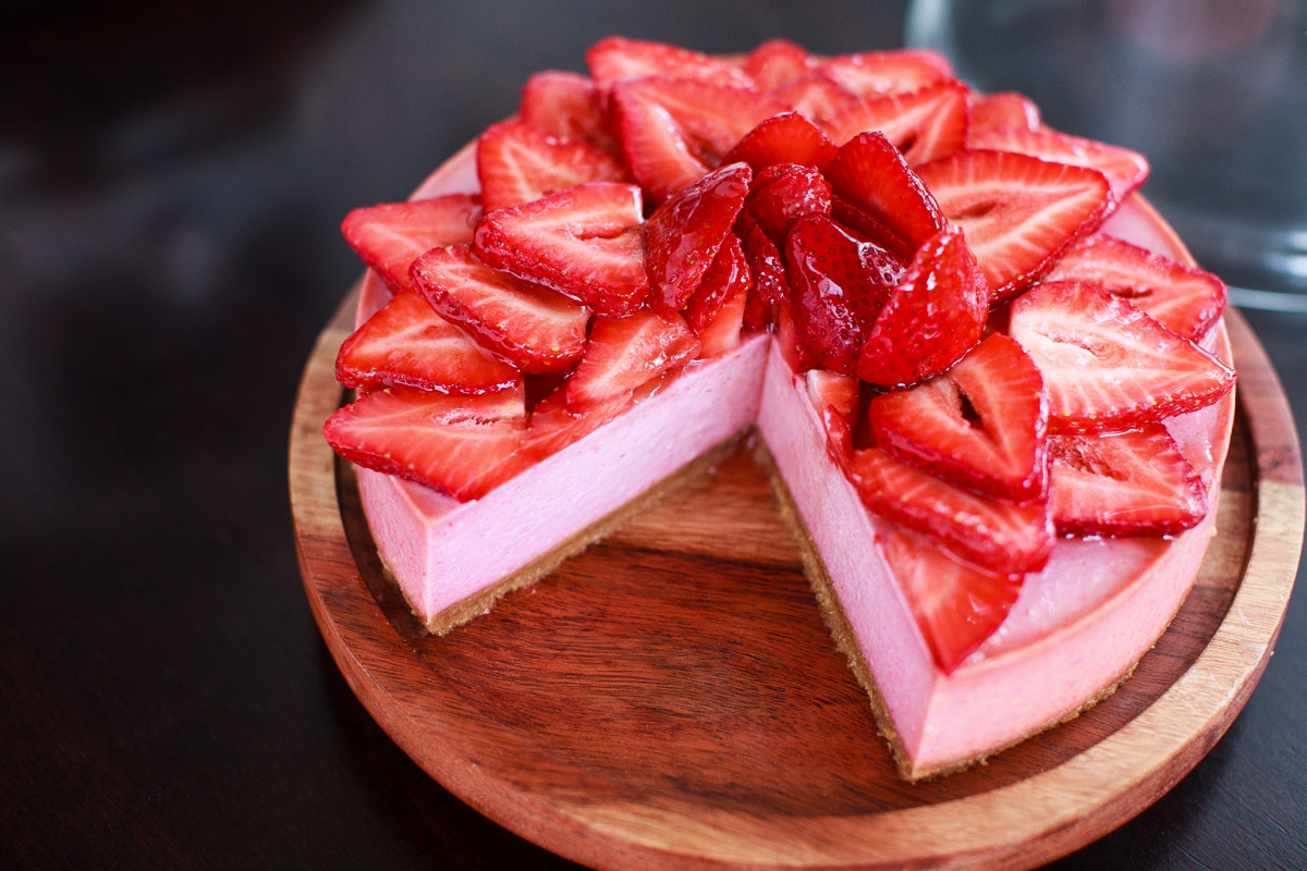 Instant Pot Double Strawberry Cheesecake Recipe