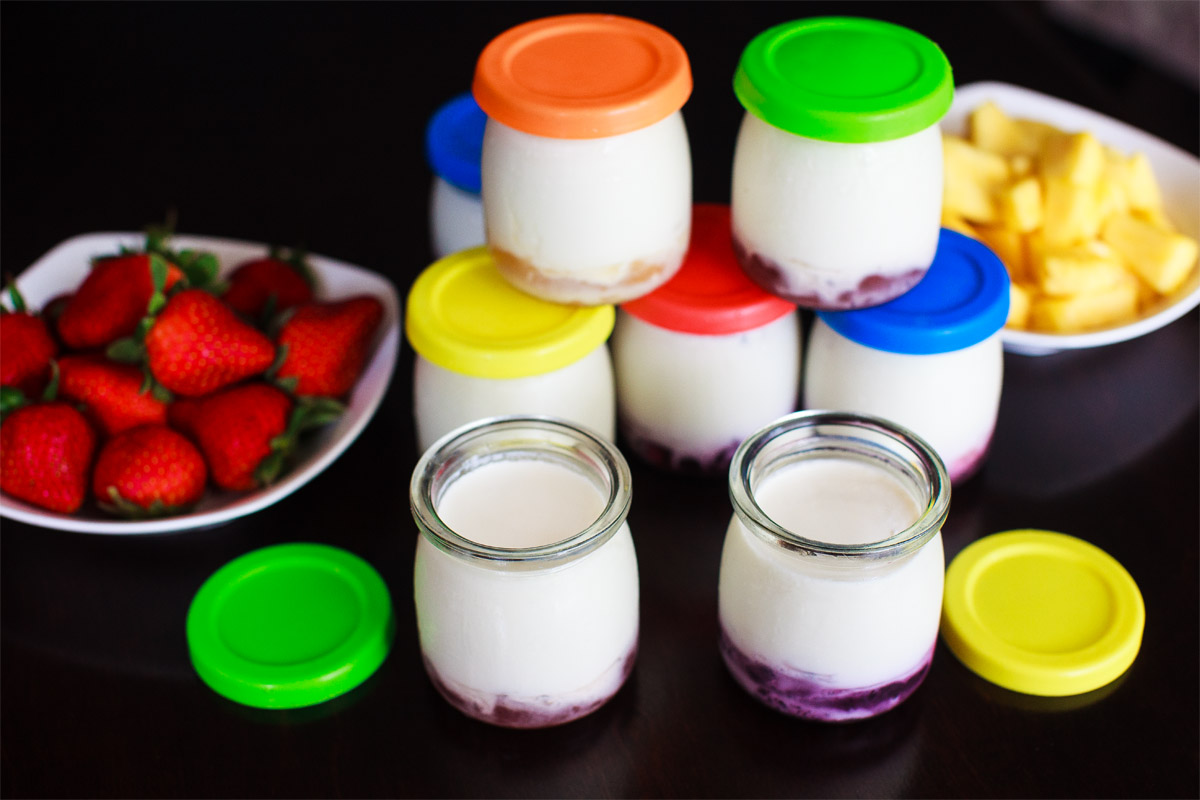Instant Pot Fruit Bottom Yogurt Recipe