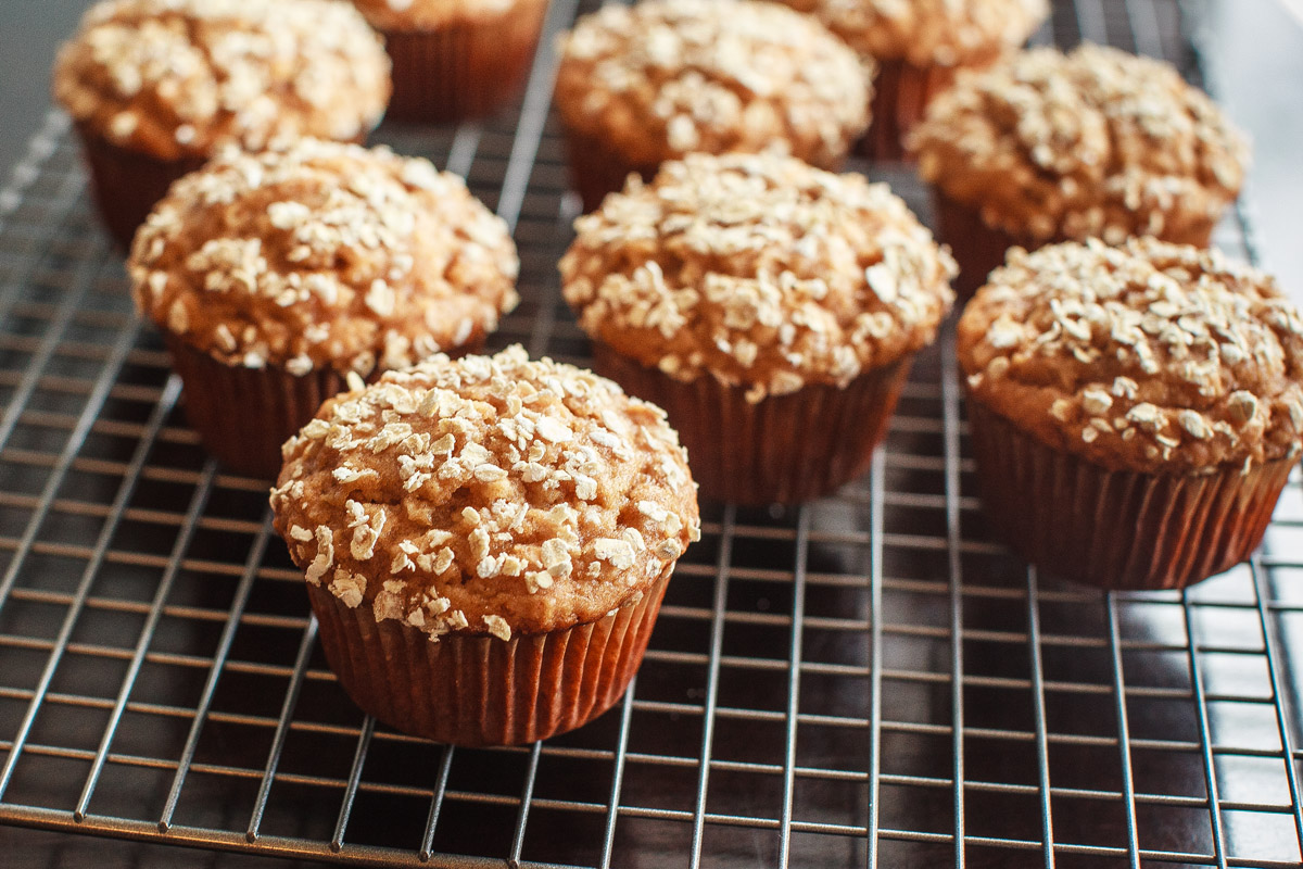 Peanut Butter Oatmeal Muffins Recipe