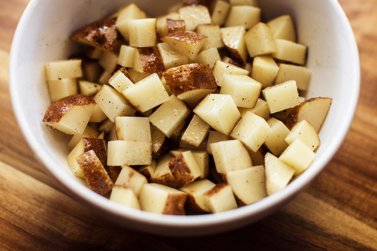 Air Fryer Breakfast Potatoes Recipe