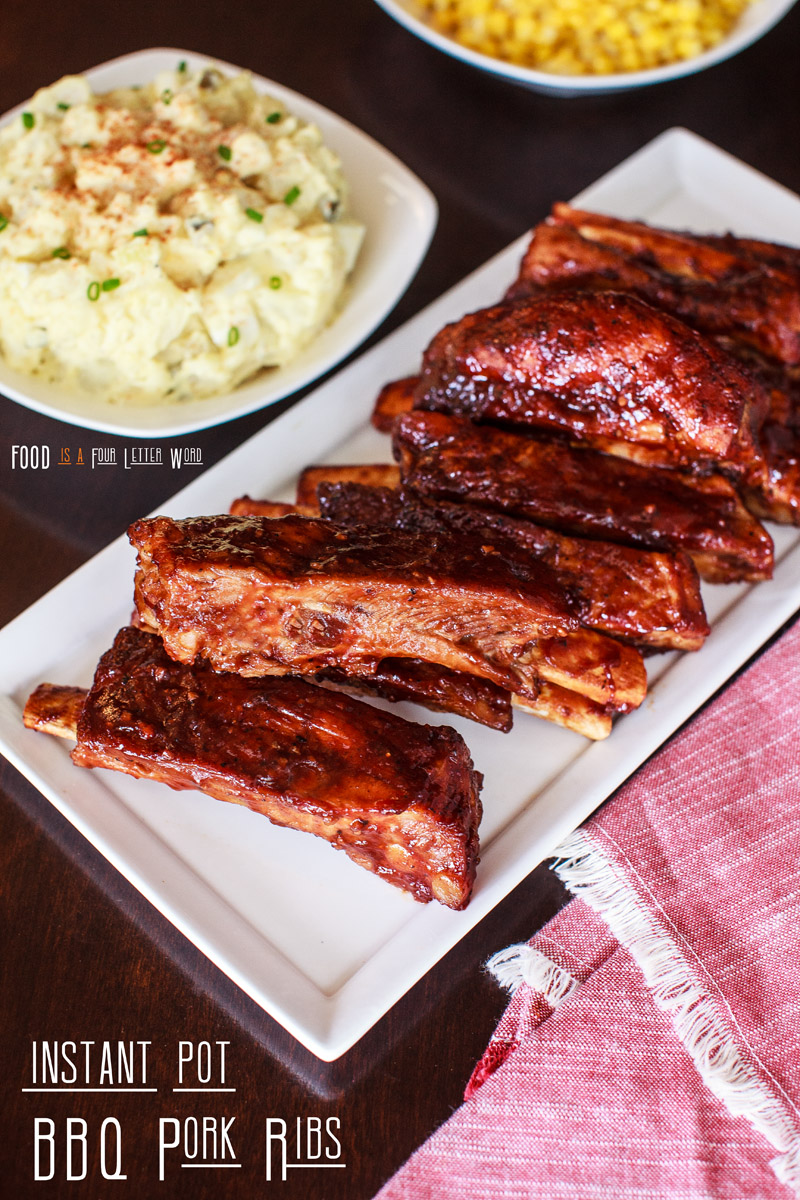 EASY Instant Pot BBQ Pork Ribs Recipe