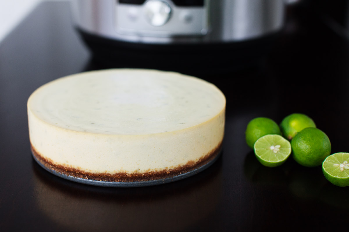 Instant Pot Key Lime Cheesecake Recipe