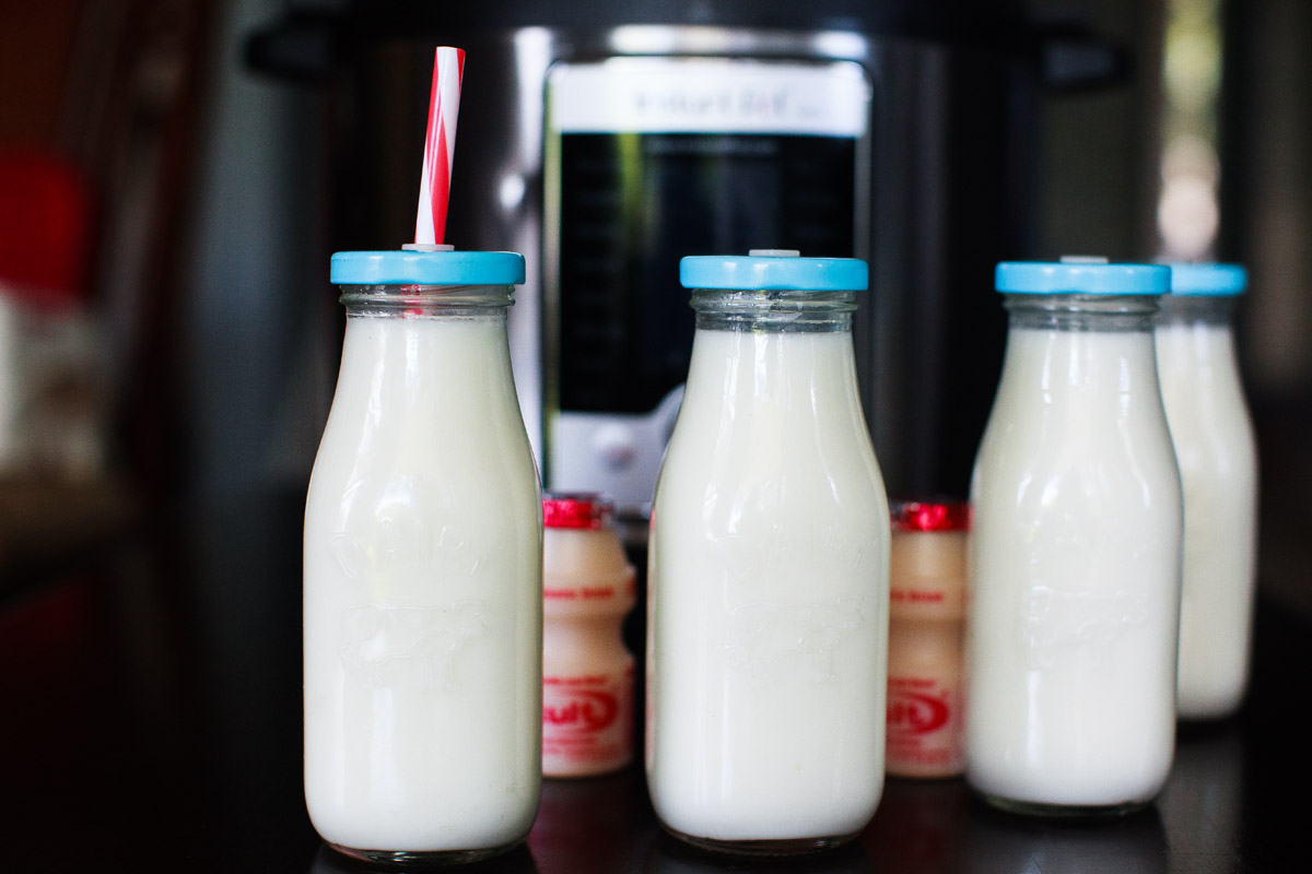 Instant Pot Yakult Probiotic Drink Recipe (Yogurt Drink)