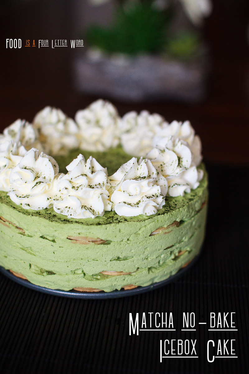 Matcha No-Bake Icebox Cake Recipe